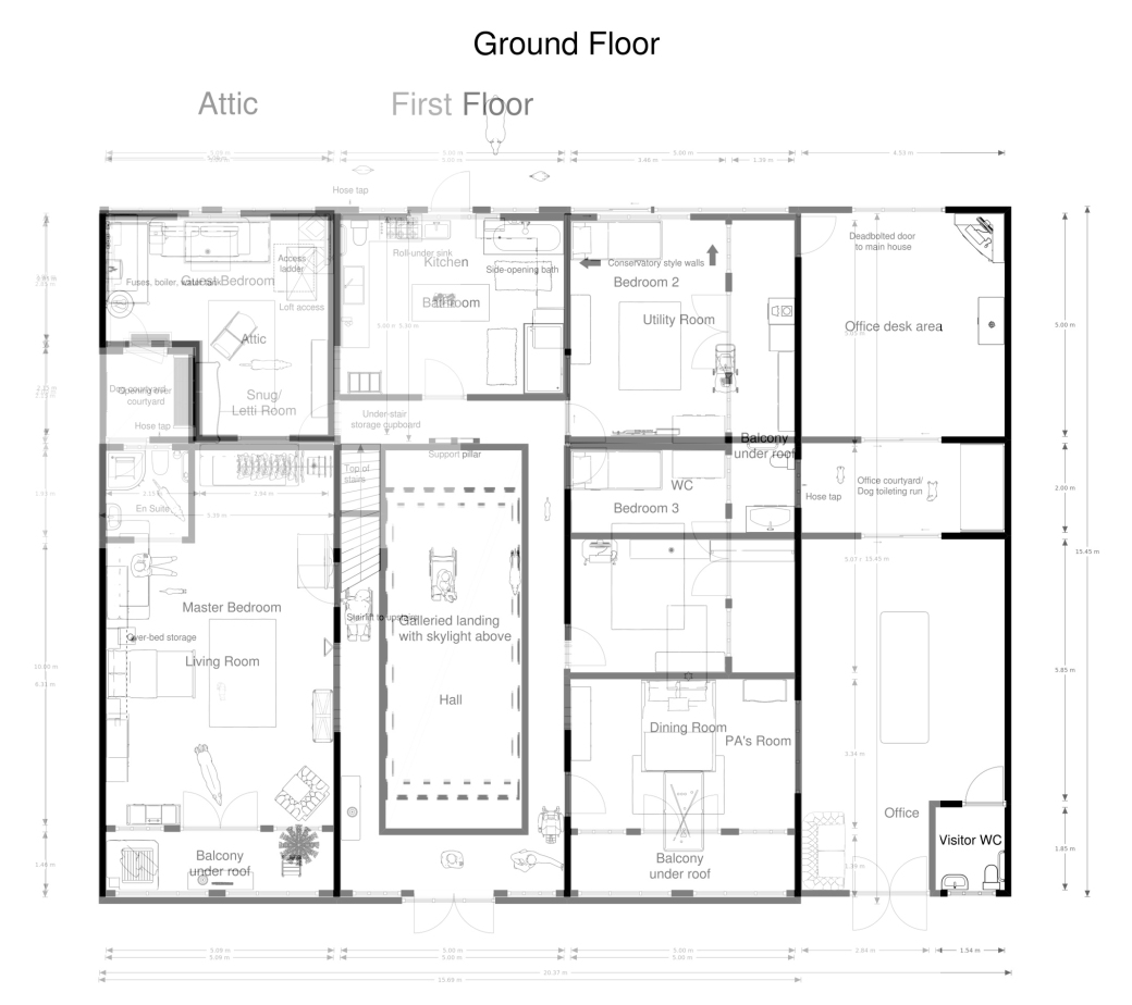 Floorplans merged