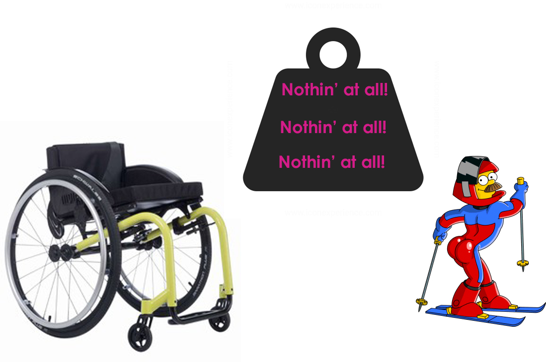 Lightweight wheelchairs