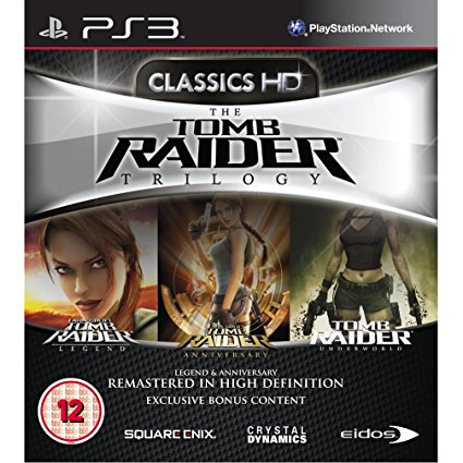 Tomb Raider Trilogy case