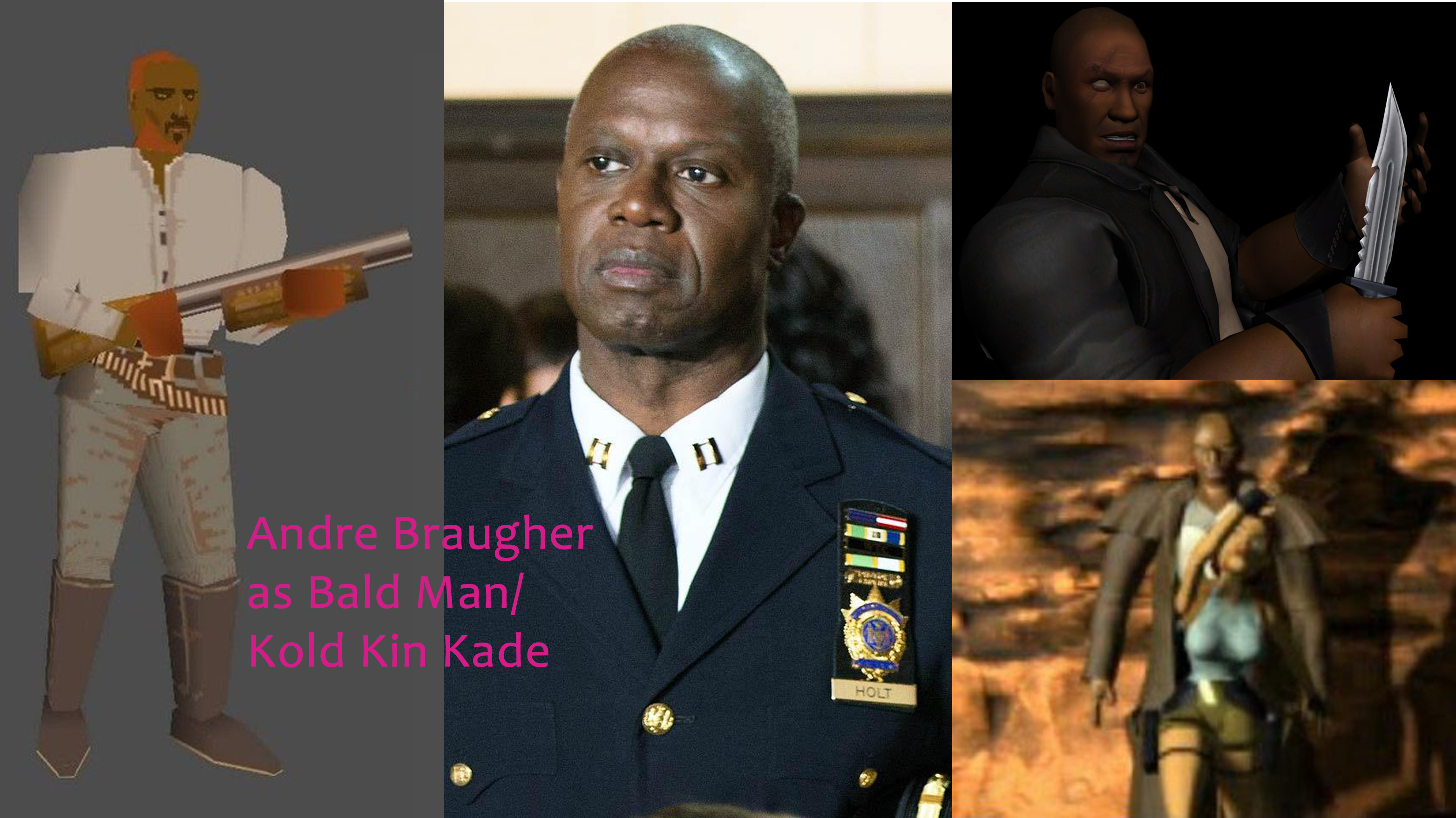 Andre Braugher as Bald Man Kold Kin Kade