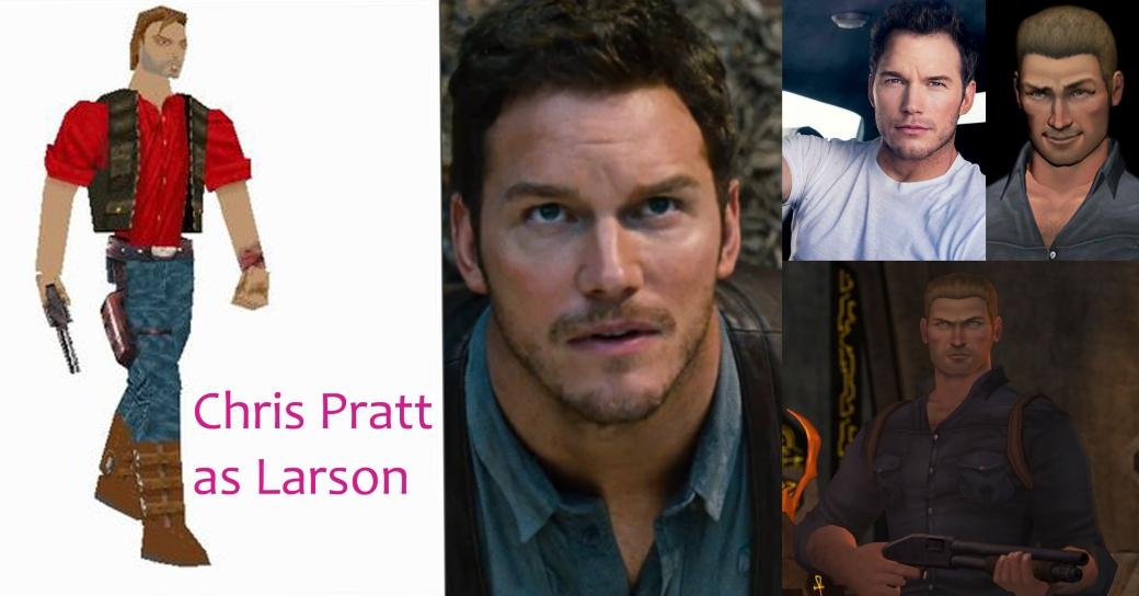 Chris Pratt as Larson Conway