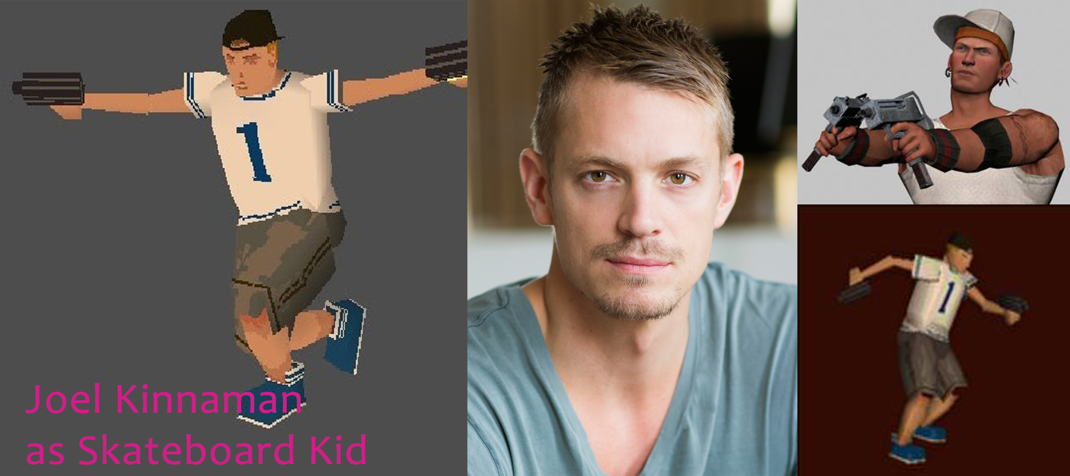Joel Kinnaman as Skateboard Kid Jerome Johnson