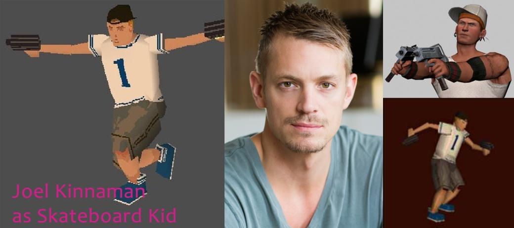 Joel Kinnaman as Skateboard Kid Jerome Johnson