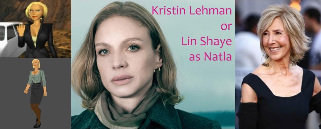 Kristin Lehman or Lin Shaye as Jacqueline Natla