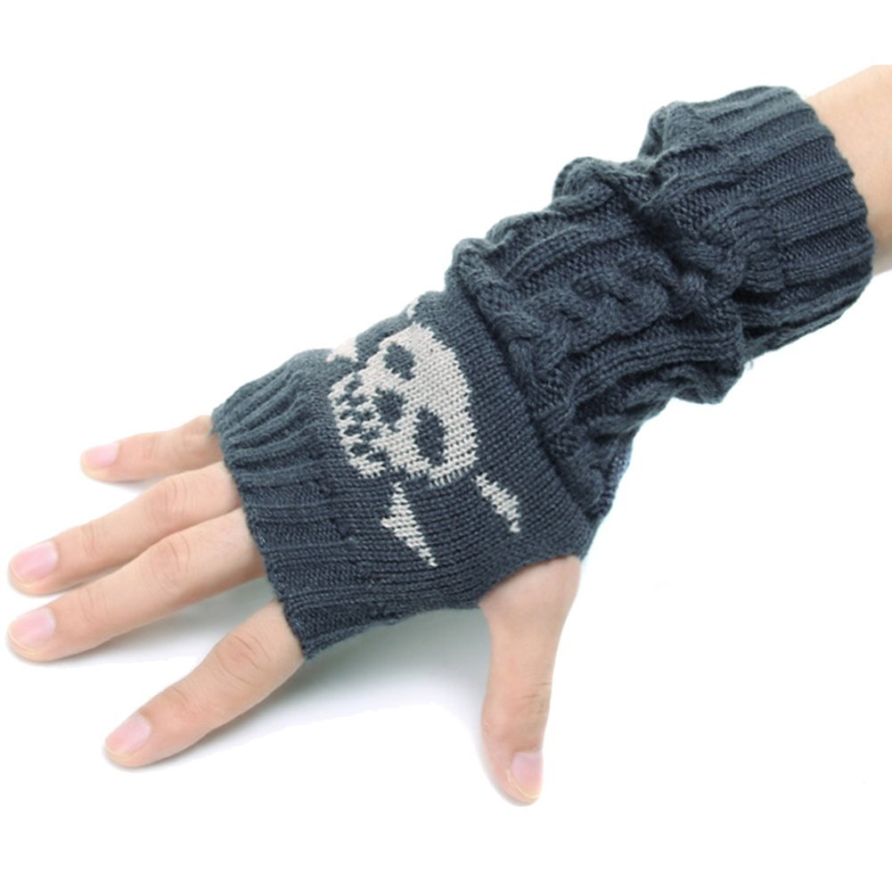 Skull hand warmers