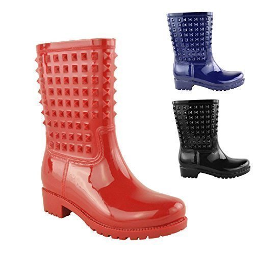 Studded spikey boots