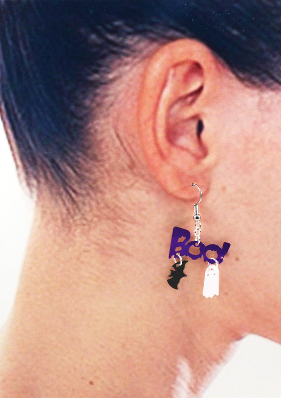 Boo earrings