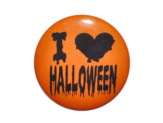 Halloween badge