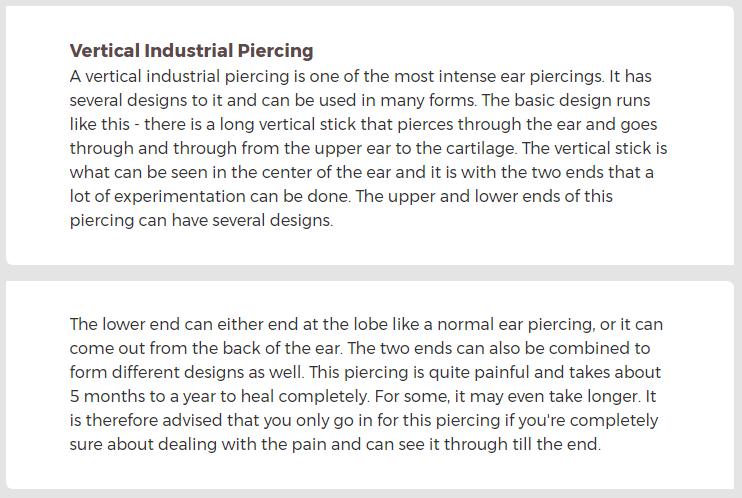 Vertical industrial info