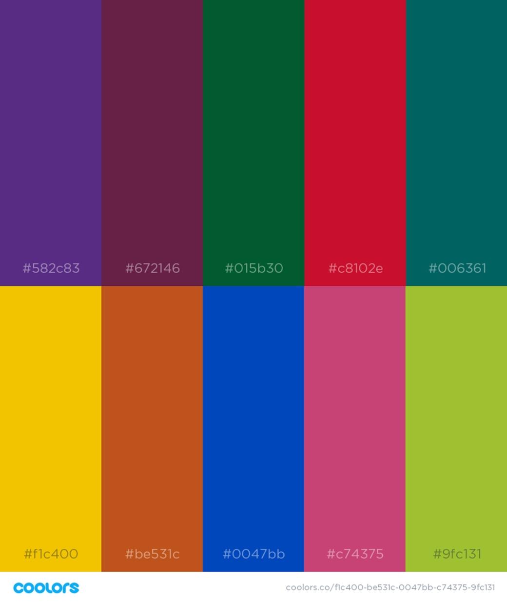 Letti colours