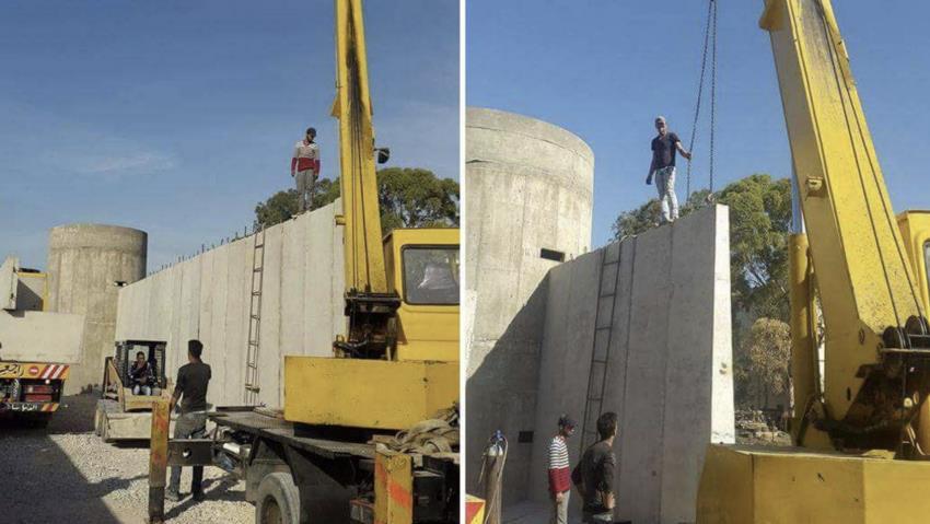 Lebanon apartheid wall