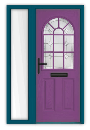 Purple door 2