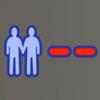 Sims minus reaction